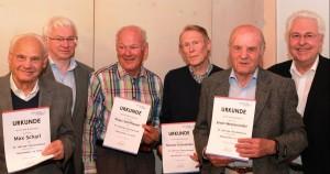 65 Jahre Mitglied beim Verein
