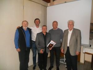 60 Jahre: Reinhard Anzenberger, Arnold Werner und Heinz Straub