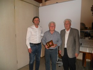 65 Jahre: Robert Eggerl und Werner Ried