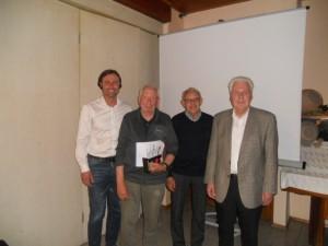 70 Jahre: Josef Artmeier und Heinz Engelbrecht