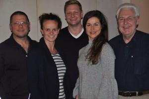 Klaus Wiesener, Pamela Oberrauch, Andreas Mayr, Karin Maier, Gerhard Duschl
