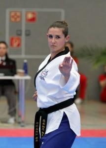 Raffaella Delli Santi bei den German Open 2015