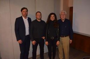 Neu gewählte Vorstandschaft-Robert Straub-KlausWiesener-Geschäftsfüherin Karin Maier-Gerhard Duschl
