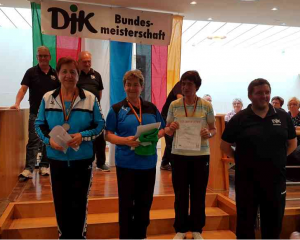Siegerehrung Ingrid Böhme